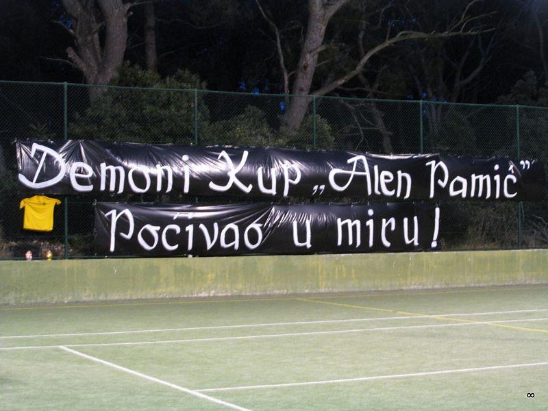 Demoni Održali Malonogometni Turnir U čast Alena Pamića