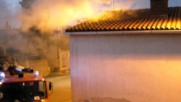 Opušak cigarete uzrok požara kuće u ulica Fontika u Rovinju-95438