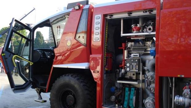 Požar vozila kod Livada-93894