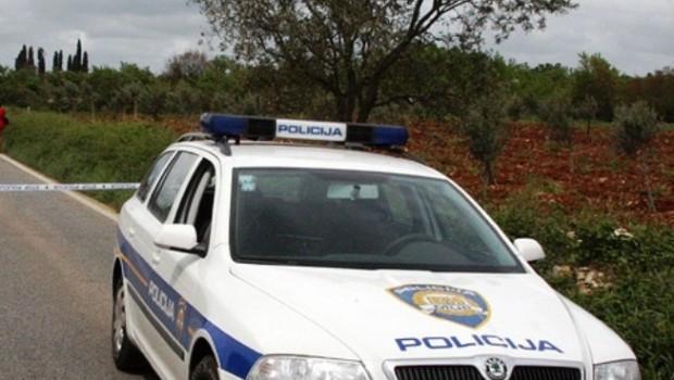 Poginuo motociklist na cesti Vodnjan - Bale-98883